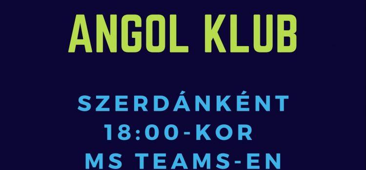 Angol Klub, Szerdánként 18:00