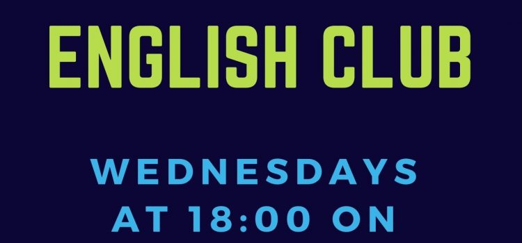 English Club Wednesdays 18:00