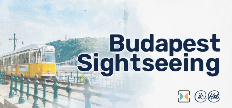 Budapesti városnézés 2021